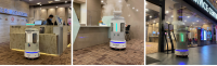 OUR DX3 AUTONOMOUS DISINFECTION ROBOT IS NOW AT OUR TAMPINES HUB!